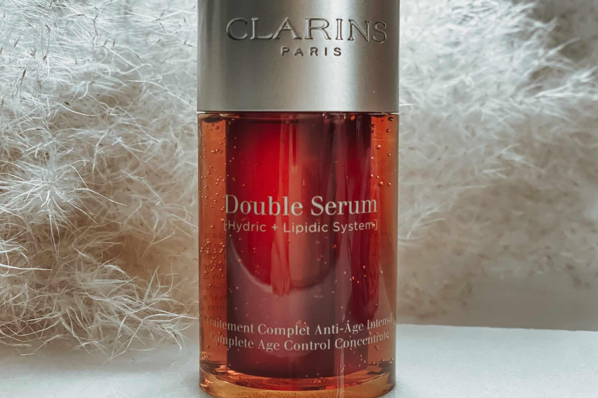Clarins Double Serum closeup