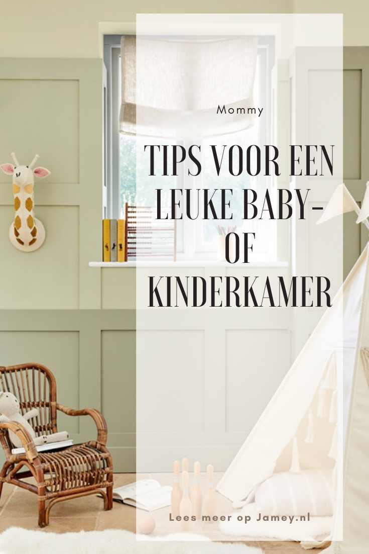 Tips voor een leuke baby- of kinderkamer