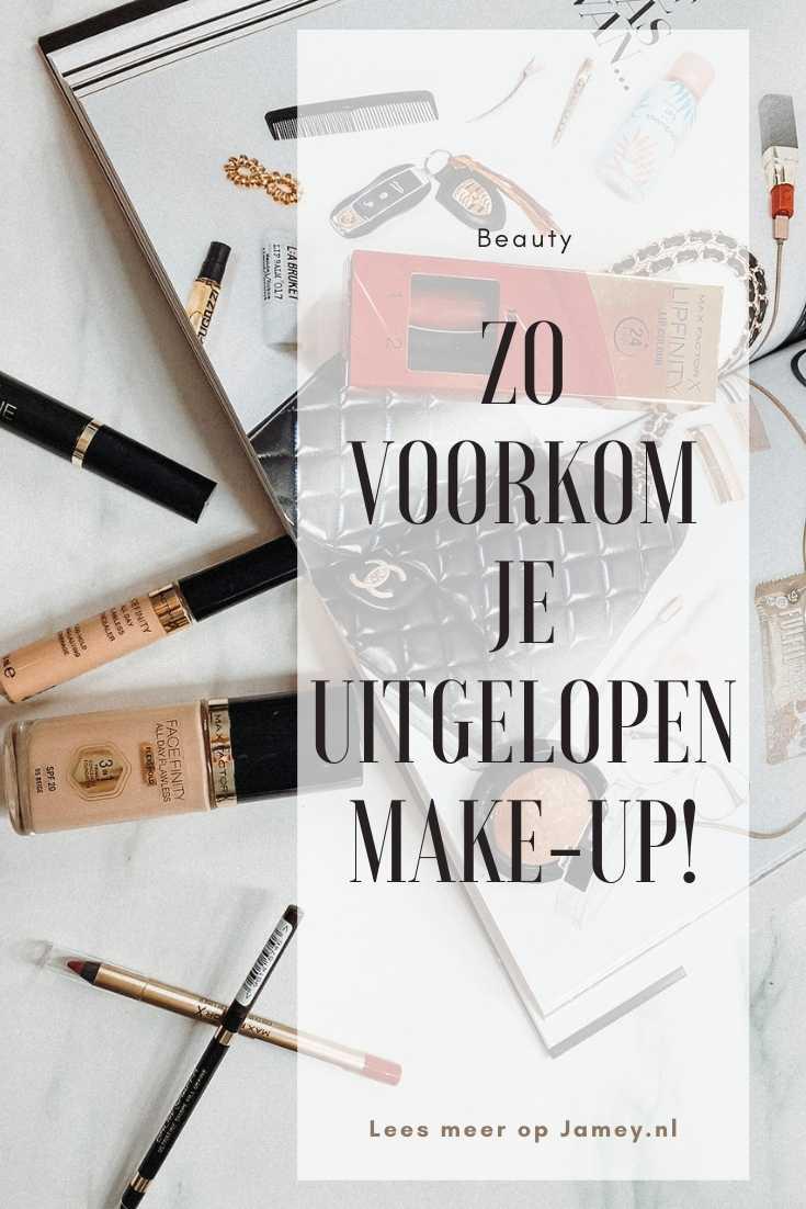 Zo voorkom je uitgelopen make-up!