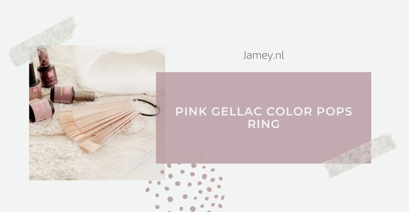 Pink Gellac Color Pops Ring