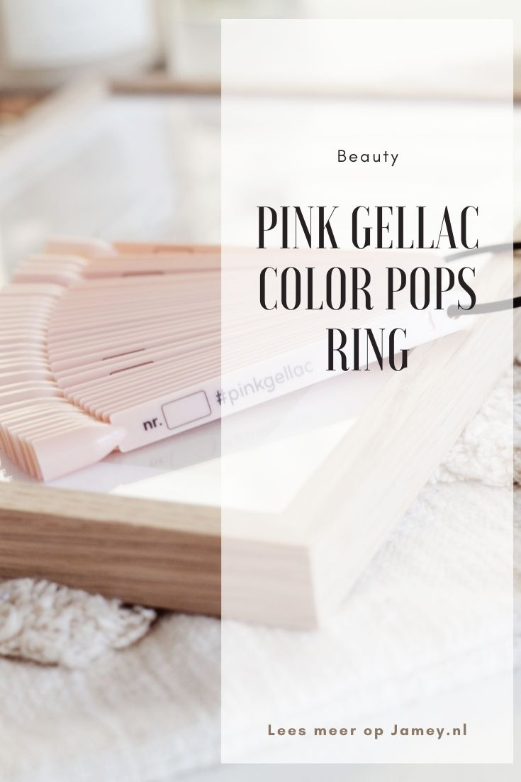 Pink Gellac Color Pops Ring(2)