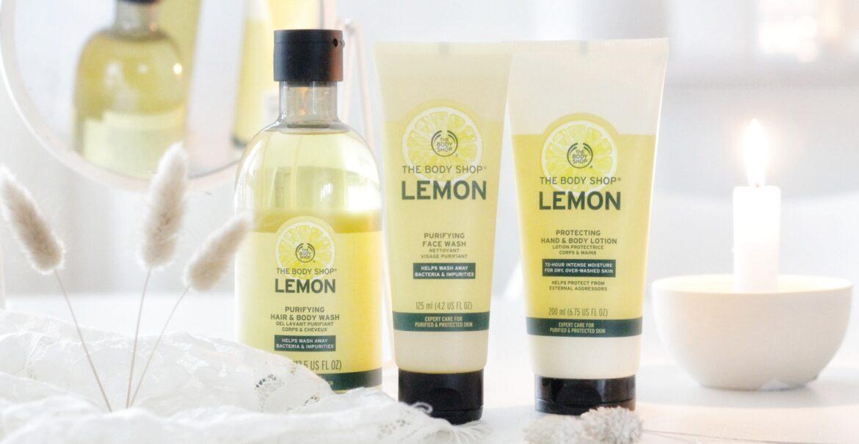 The Body Shop Lemon Hair & Body Wash