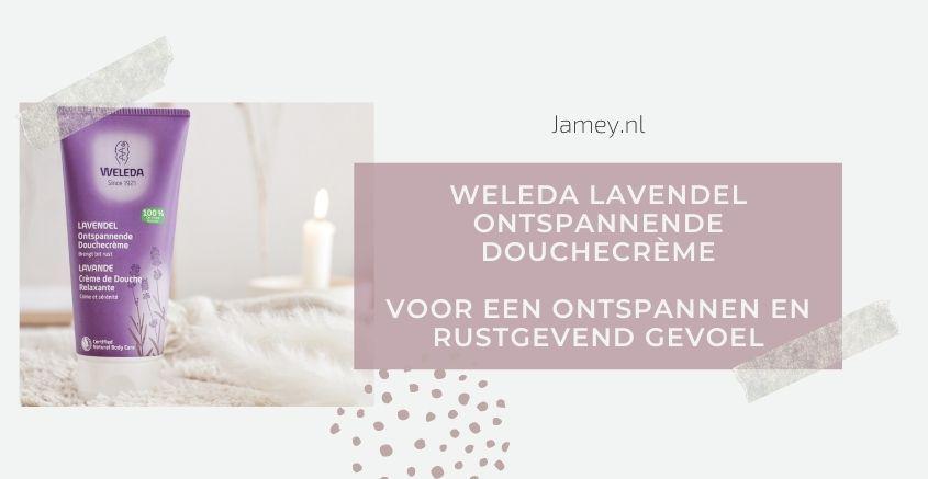 Weleda Lavendel Ontspannende Douchecrème Voor een ontspannen en rustgevend gevoel