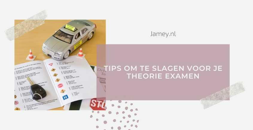 Tips om te slagen voor je theorie examen