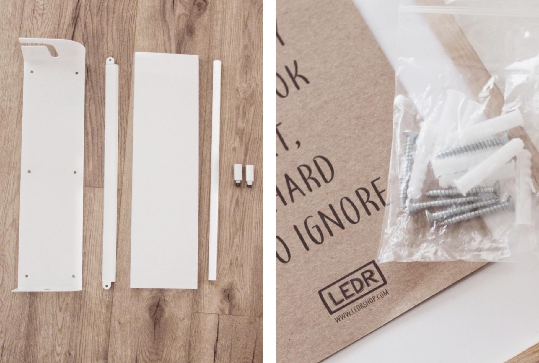 LEDR Kraft Paper Roller Inhoud