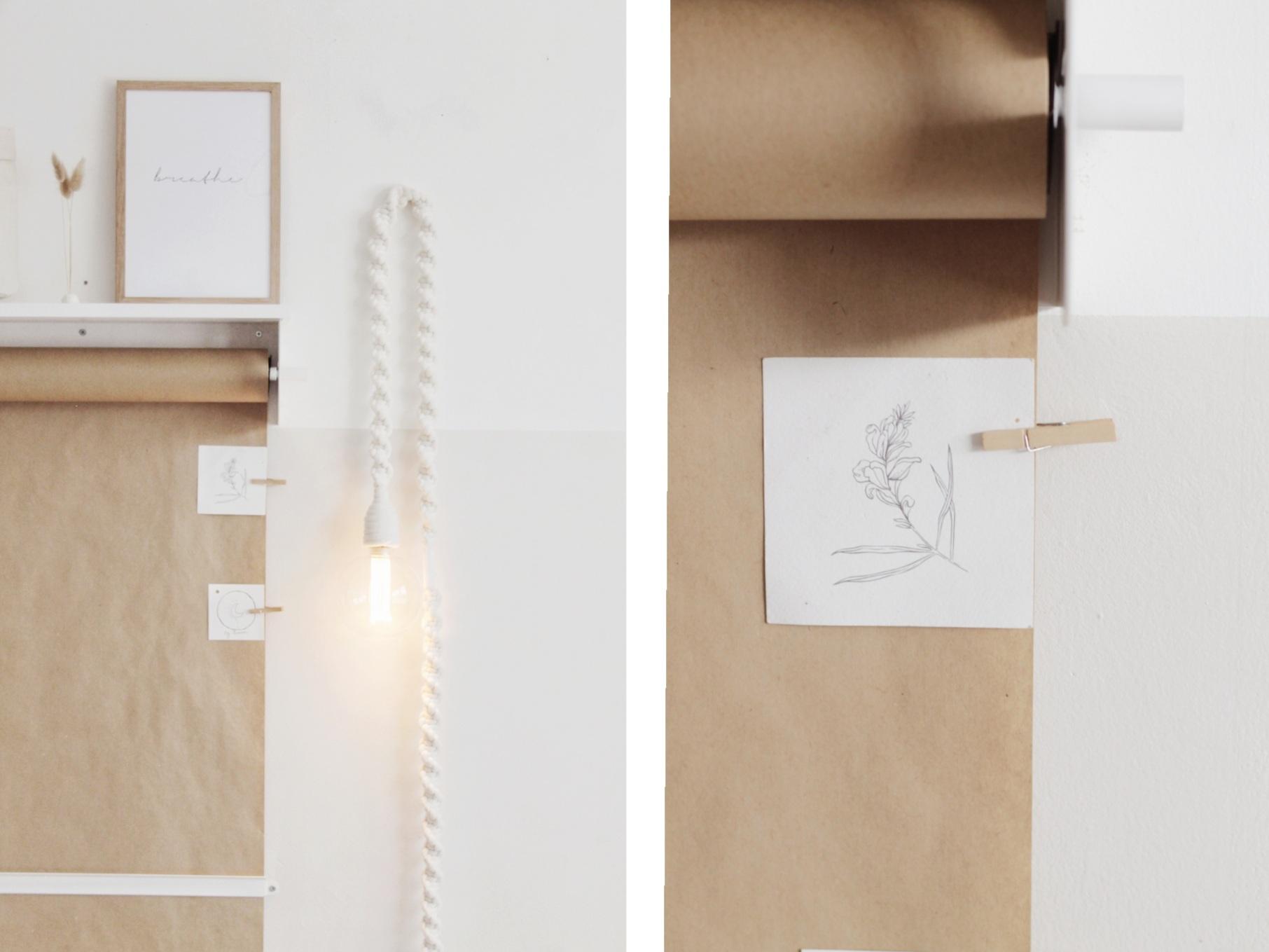 LEDR Kraft paper roller tip