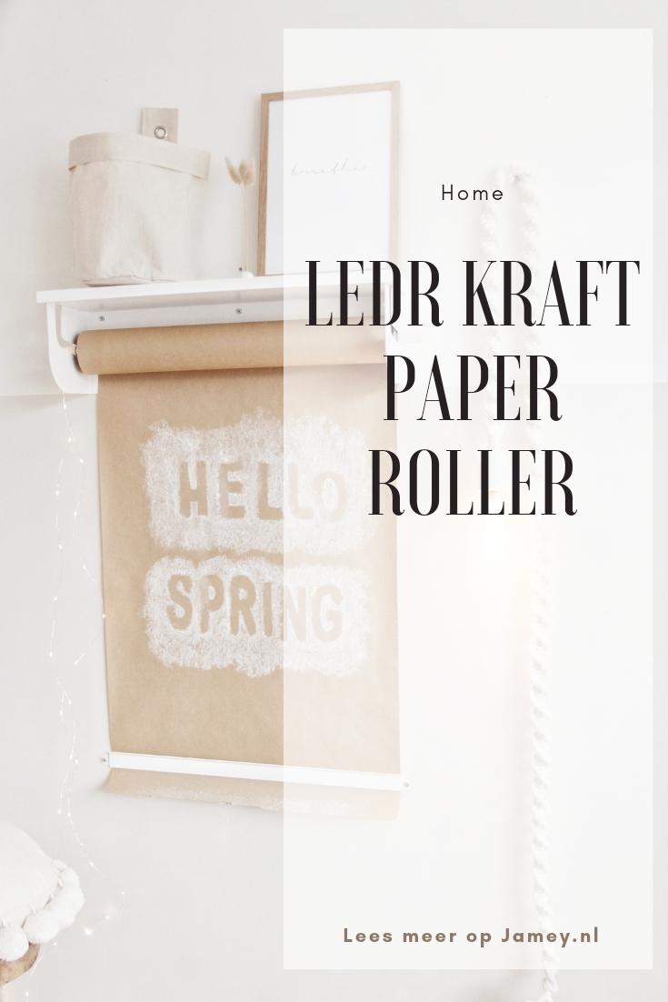 Ledr Kraft paper roller Pin