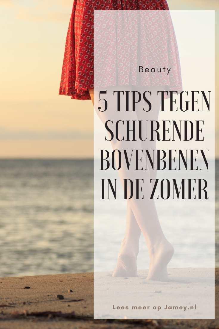 5 tips tegen schurende bovenbenen in de zomer