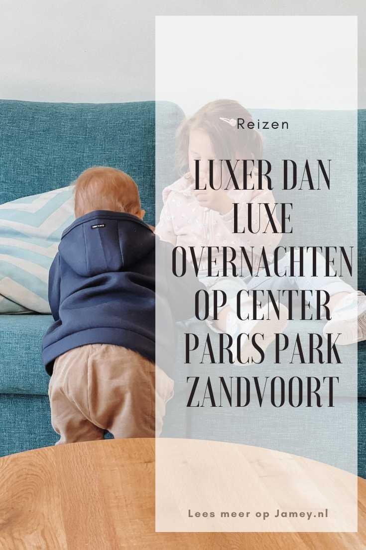 Luxer dan luxe overnachten op Center Parcs park Zandvoort