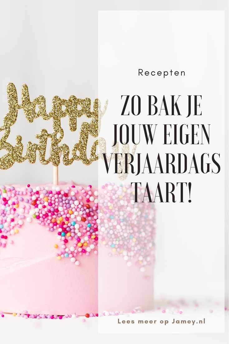 Zo bak je jouw eigen verjaardagstaart!