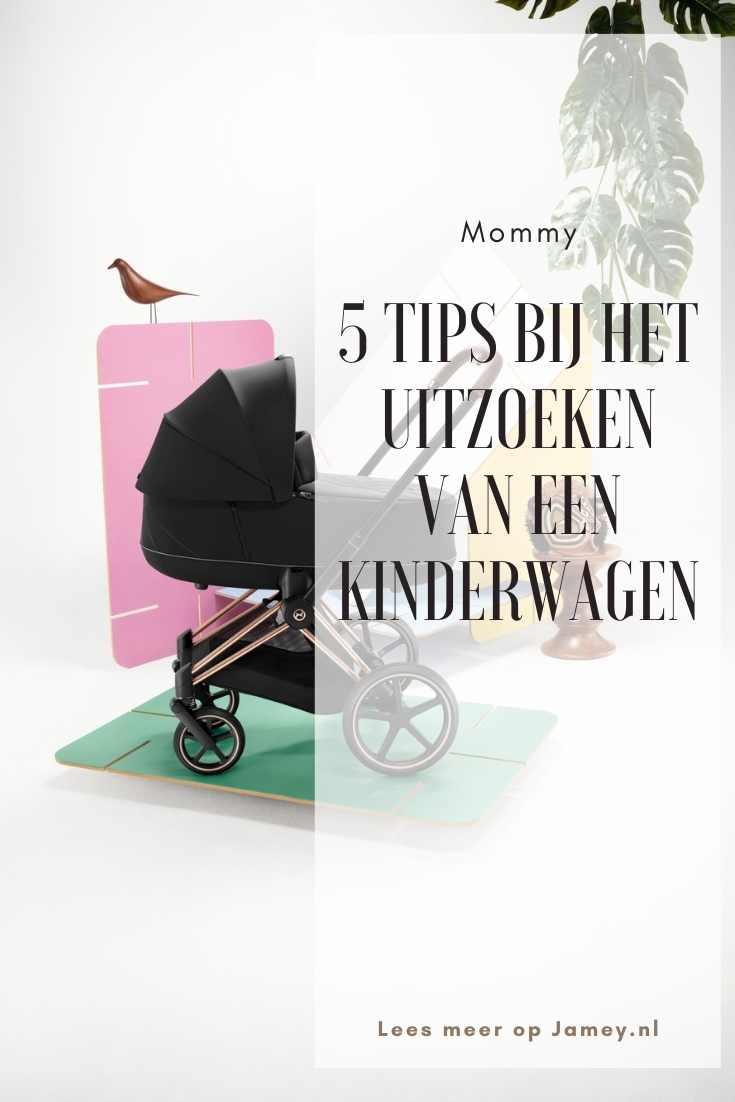 5 tips bij het uitzoeken van een kinderwagen